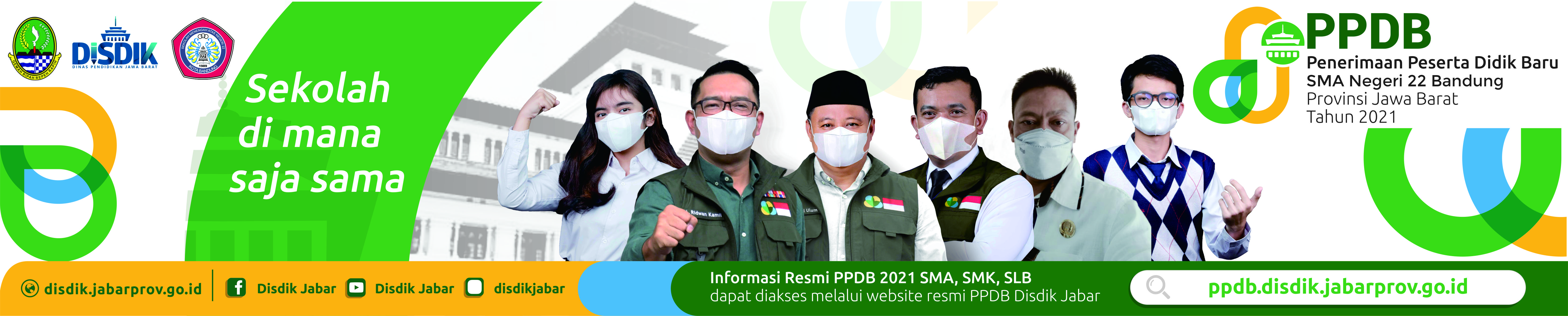 PPDB SMAN 22 BANDUNG 2021